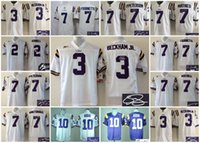 badger football jerseys - A Football LSU Tigers Men Rueben Randle Odell Beckham JR HONEY BADGER Fournette Tyrann Mathieu Patrick Peterson signed jersey