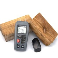 Wholesale BSIDE EMT01 LCD Wood Moisture Meter Can Test Wood Cardboard Mixed Soil Measurement Range