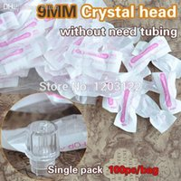 Wholesale MM Usual Makeup Pen Crystal Head Disposable Makeup Machine Tubes