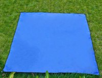 awning mat - Waterproof Outdoor Picnic Beach Camping Mat Camping Tarpaulin Bay Play Mat Oxford cloth thickening big awning picnic mat