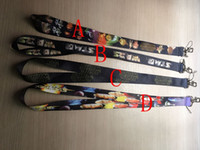 Wholesale Cartoon Star Wars Lanyard Star Wars lanyard printed Neck Lanyards Strap Man Women ID Holder Mobil Phone Neck Strap