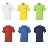 Wholesale New fashionable Golf clothes short sleeve casual Golf shirt colors S XXL size for summer casual wear
