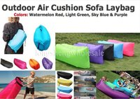 Wholesale lamzac inflatable air lounge sleep lamzac hangout Laybag KAISR Beach Sofa Lounge only Seconds Quick Open Lay bag