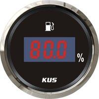 Wholesale mm Digital fuel level gauge fuel level meter ohm signal for boat car