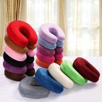 Wholesale Textile U Pillow Neck Pillow Health Care Cervical Pillow Slow Rebound Space Memory Pillow
