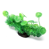 Wholesale New x12x5cm Aquarium Artificial Aquatic Grass Plants Fish Tank Ornament Plant Decoration