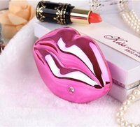 Wholesale Kiss Lips Mobile power Bank mAh Unique Styling Universal Sexy Lips Kisssing Mobile Power supply Charging Treasure with Retail Package