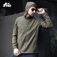 Wholesale New Windproof Sun amp UV Protection Coats Outdoor Men s Breathable Sun Block Clothes Summer Uv proof Coat Tactical