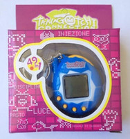 Wholesale 2016 Hot Selling in Tamagotchi handheld virtual pet game Electronic Pets Game For Gift