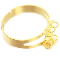 Wholesale Brand New Trendy Gold Plated lovers Romantic Ring with Circle Party Wedding Anniversary Hot Selling
