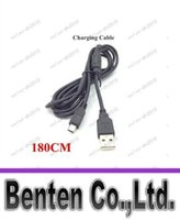 Wholesale USB to Mini USB Charging Cable for PS3 Game Controller Black cm DHL LLFA