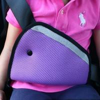 Wholesale Drop Shipping car Safe Fit Seat Belt Adjuster car safety belt adjust device baby child protector positioner Breathable HA10329