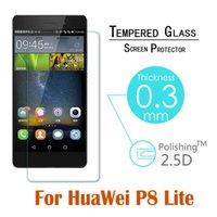 arc coating glass - H Arc Tempered Glass For huawei P8 lite Screen Protector Oleophobic Coating Explosion Proof Protective Film In Stock