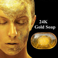 Wholesale Revitalizing Repairing Beauty K Gold Facial Cleaning Soap For Face Care Whitening Skin g
