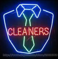 bars cleaners - Cleaners Neon Sign Washing Store Shop Motel Hotel Clothes Garments Cleaning Custom Indoor Real Glass Tube Advertisement Display Sign quot X24 quot