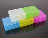 Wholesale Portable Hard Section battery box battery storage box battery storage box storage box