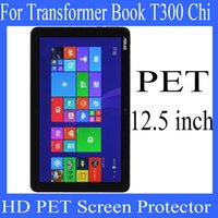 Wholesale 12 inch Asus Transformer Book T300 Chi PET screen protector screen protector HD transparent clear PET protector Factory Price