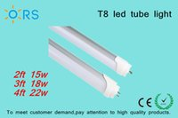 Wholesale LED Tubes Light ft W ft W ft W T8 Led Tube Light T8 tubes light economic series MM lamp SMD2835 Aluminm