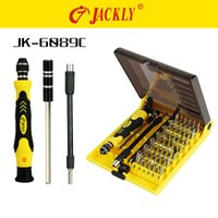 Wholesale In business supply of JACKLY Jackley JK C combination screwdriver set manual screwdriver For phones All Home Devices Repair Kits