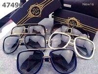 acrylic hinge - Best Quality Vogue Vintage Unisex DITA MACH ONE Sunglasses Men Women Dita Lenses Metal Hinge Glasses UV400 With Original Box