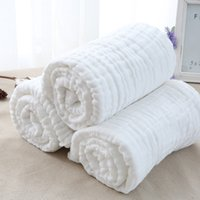 Wholesale NEW white Washing gauze robes for newborn baby bath towels three color