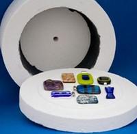 Wholesale 2016 Professional Large Microwave Kiln x11cm Glass Fusing Kiln For DIY Glass Pendants