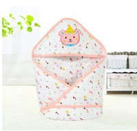 Wholesale 5pcs New style80cm cm Y baby cotton blanket newborn girl and boy thin blankets outfit In spring