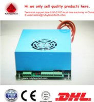 Wholesale hot sell white plug in terminal board W CO2 laser power supply match with all brands of mm mm W laser tube Warranty months