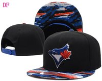 Wholesale 2016 New MLB baseball hat for man woman toronto blue jays bones snapback embroidery red caps men sport adjustable cap df