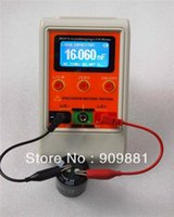 autorange capacitance meter - AutoRange LCR Bridge Capacitance Meter Digital Capacitance Inductance USB PC Program Large Range H mF MR Rechargeable