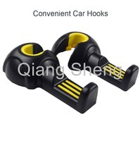 Wholesale 30 pair of car hanger hooks for universal car truck Multi purpose hanger hook for luggage car interior bag hooks
