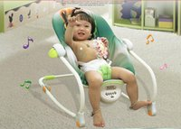 Wholesale 2016 Hot Sale Electric baby rocking swing chair cradle baby chaise lounge bouncer swing cradle Rocking Chairs