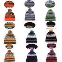 Wholesale 2016 New Winter Team Beanies Sports Knitting Outdoor Caps Skiing Beanie Sport Baseball Beanies Accept Mix order More Styles