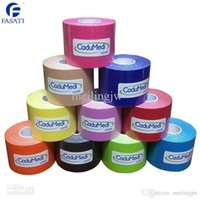 Wholesale 2pc cm m tex tape athletic tapes kinesiology sport taping strapping zinc oxide respiratory exercise muscle