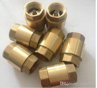 Wholesale internal thread copper core vertical check valve