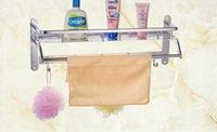 Wholesale Polishing Customized Bathroom Towel Racks Material Aluminum Hardware Towel Racks