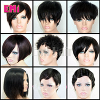 african american bob style wigs - Bob Style wigs Brazilian cheap lace human hair wigs african american bob wigs for black women short Full lace wigs kinds style