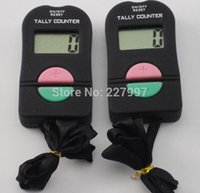 Wholesale Digital Hand Tally Counter Electronic Manual Clicker ADD SUBTRACT MODEL For Golf Sports Muslim