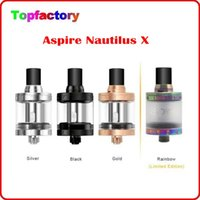 aspire gold - Limit Version rainbow Aspire Nautilus X Atomizer ml Tank Adjustable Top Airflow Leak Proof Design Nautilus X U Tech Coils Original
