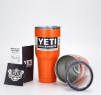 Wholesale The snowman the YETI mark cup vacuum cup ml cups rambler