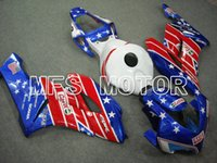 Wholesale For Honda CBR1000RR Red Blue ABS full Fairing CBR1000RR Fairing Injection Bodywork Kit Free gifts