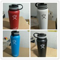 Wholesale DHL In Stock Hydro Flask Water Bottles Travel Camping Climbing Outdoor Activity Vacuum Insulated Water Bottle oz oz Available