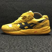 Wholesale Asics Gel Saga Pay tribute to Bruce lee Outdoor Running Shoes Mens And Womens Lightweight Breathable Athletic Sneakers