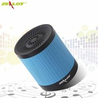 active bass speaker - Portable Bluetooth Speaker Zealot S5 Loudspeakers Subwoofer Active Outdoor Bass Brand Speakers for Mobile Phone PC Laptop Mp3