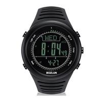 air pressure altitude - Smart watch SP02 Professional Sports Watch meters Waterproof Altimeter Compass Air pressure LED Display Digital Wristwatch