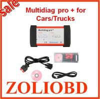 auto card design - DHL free newly design V2014 Bluetooth Multidiag Pro auto scanner multi diag pro plus for Cars Trucks OBD2 GB TF Card