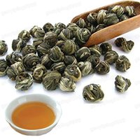 Wholesale 100 Organic Premium King grade Jasmine Dragon Pearl Ball Chinese Green Tea g vacuum packaging