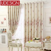 bedroom window treatments - Modern Curtains Floral Blackout Curtains for Living Room Kids Curtains for Bedroom Window Treatment Purple Orange Ready Made