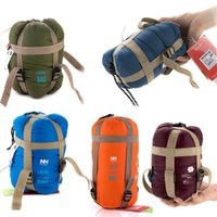 Wholesale Colors NatureHike Sleeping Bag Ultralight Multifuntion Portable Outdoor Envelope Camping Sleeping Bags Travel Hiking Equipment Sleeping Bags