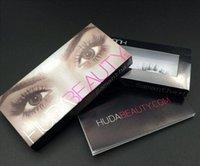 beauty hair tips - Hot Arrival D Handmade Huda Beauty False Eyelashes Messy Cross Thick Natural Fake Eye Lashes Professional Makeup Tip Bigeye Long Lashes